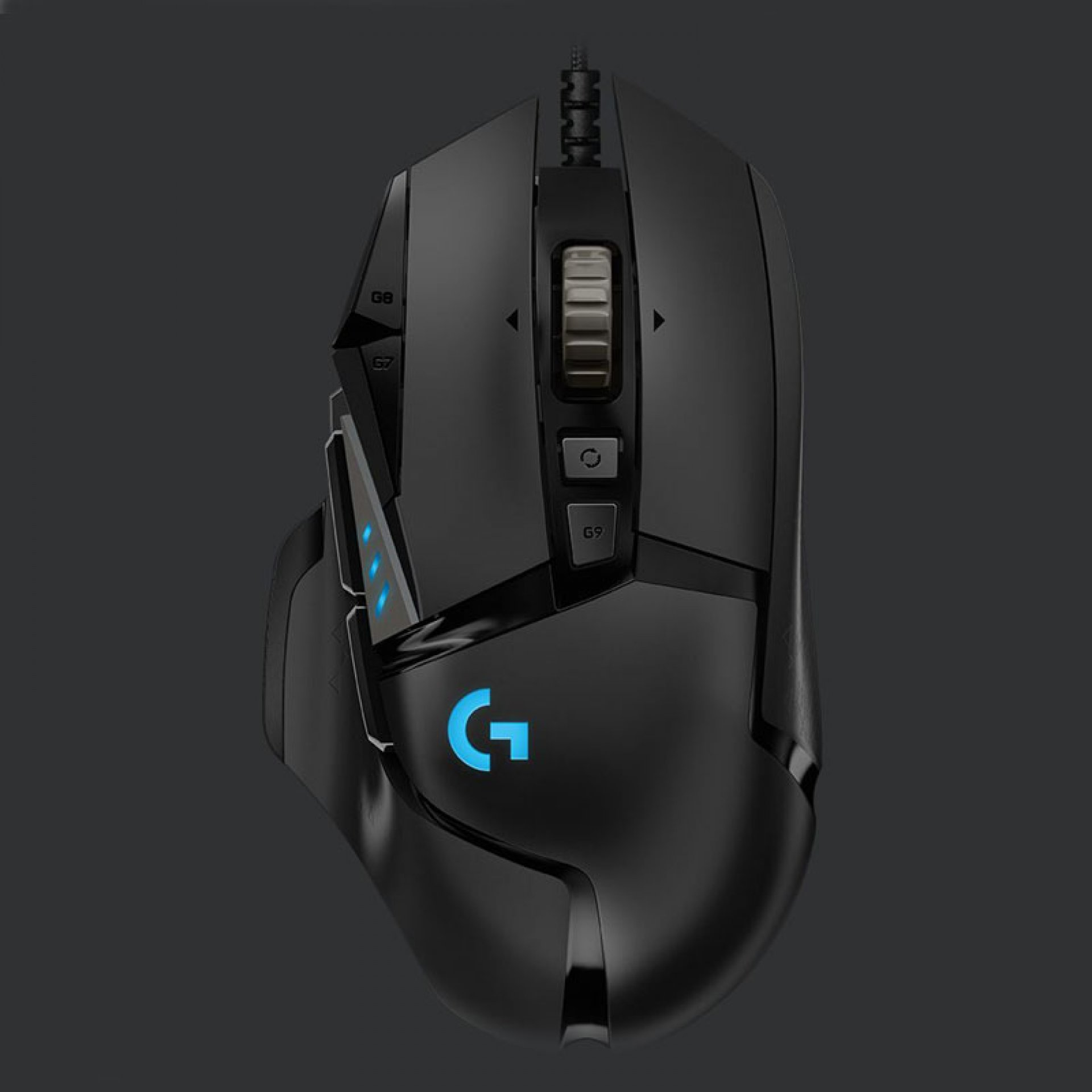 LOGITECH G502 HERO RGB Ambidextrous Wired Gaming Mouse - (16000DPI, Optical Sensor, RGB Lighting, 1000Hz Polling Rate)