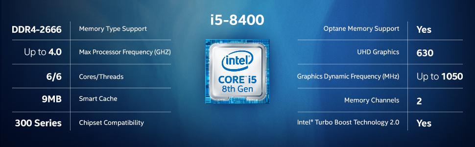 intel core i5 8400